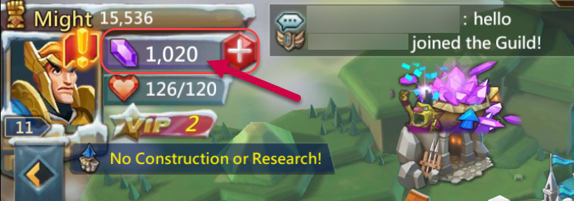The Best Way to Spend Your First 1000 Gems in Lords Mobile