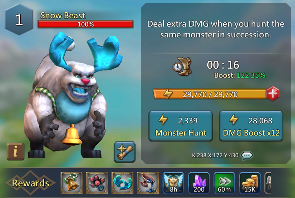 Monster Hunt Quick Guide | Lords Mobile Monster Hunting