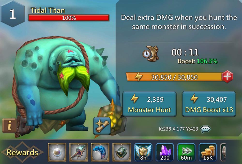Tidal Titan