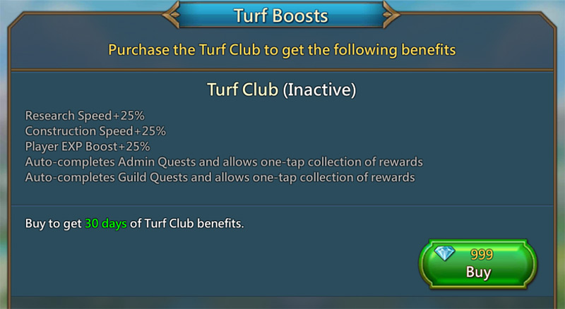 Lords Mobile Turf Club Review